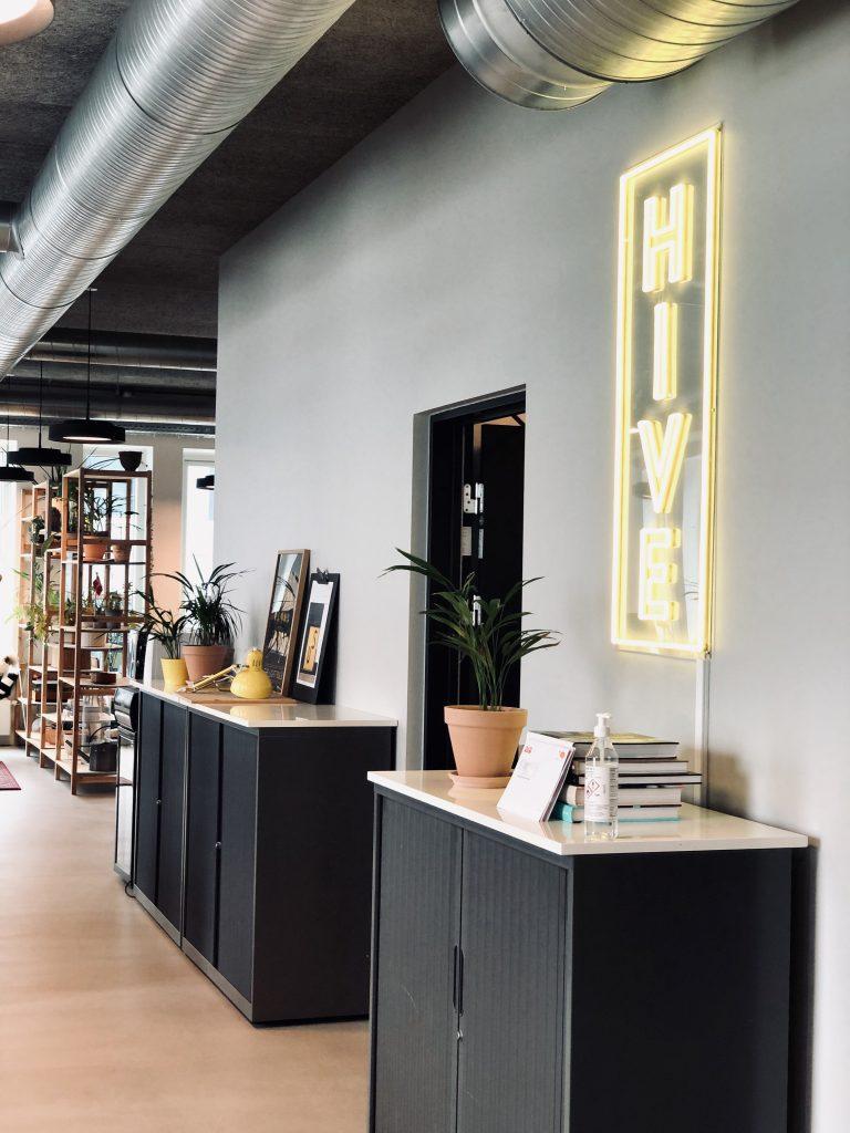 Kaospilot HIVE - office room